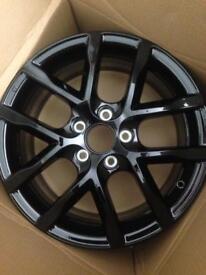 Honda Civic Alloy wheels x 4 - 17 inch