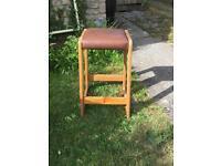X2 vintage stools