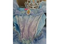 Disney Cinderella dress with tiara. Age 6-7yrs only worn once!