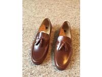 Mens tan loafers size 7
