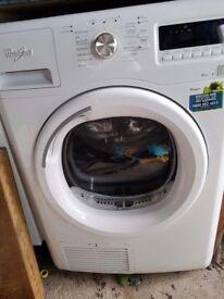 Whirlpool 9kg tumbke dryer - not working . For spares/repair