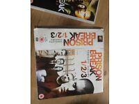 Prison Break DVD's Season 1, 2 & 3