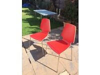 Two Vilma chairs in excellent condition