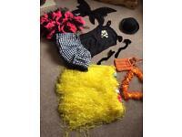 Dressing up clothes assortment
