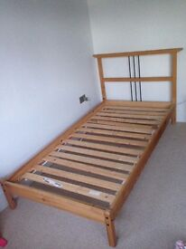 IKEA DALSELV twin bed frame - (Free. Collection Only <= Has now been collected)
