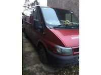 FORD TRANSIT VAN FOR BREAKING