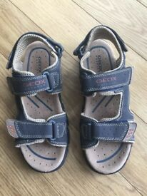 Geox Sandles Size 4 - With Box