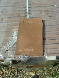 Sandtoft Goxhill Clay Roof Tiles (unused) with Matching Fittings