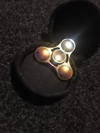 Rainbow 3 sided fidget spinner £6