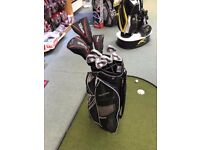 Wilson Golf Men's Package Starter Set - Full set of clubs - Cart Bag included