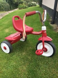 Radio Flyer folding tricycle excellent condition