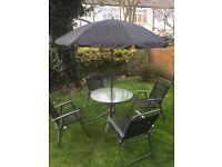 Garden patio set for sale