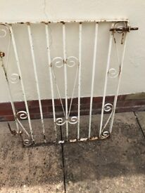2' Path Gate wrought iron