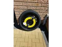 Audi A1 spare wheel