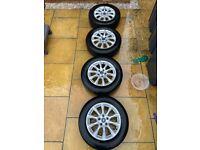 "16"" mk5 alloy wheels - good condition!"