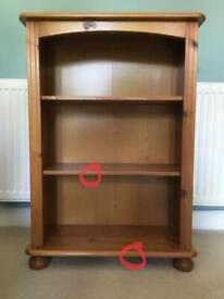 Wooden Bookcase x 2