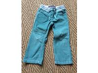 Mini Boden girls 3Y trousers