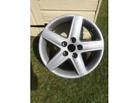 "Audi A4 B6 or A6 C5 17"" Sport 5 spoke Alloy wheel"
