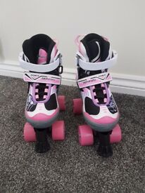 Girls roller skates adjustable size 1-4