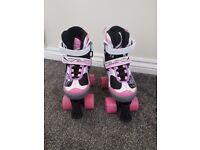 Girls roller skates adjustable size 1-4