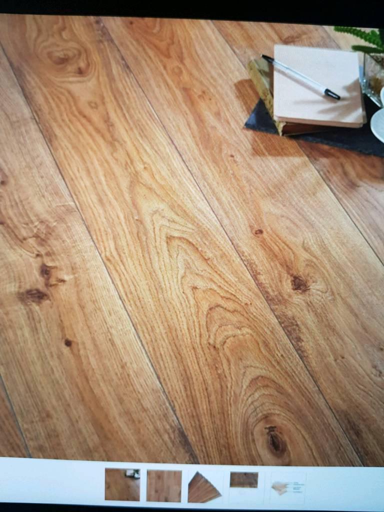 Andante Quickstep Oak Effect Laminate Flooring