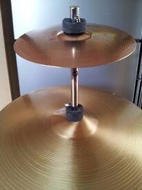 Splash cymbal & cymbal stacker