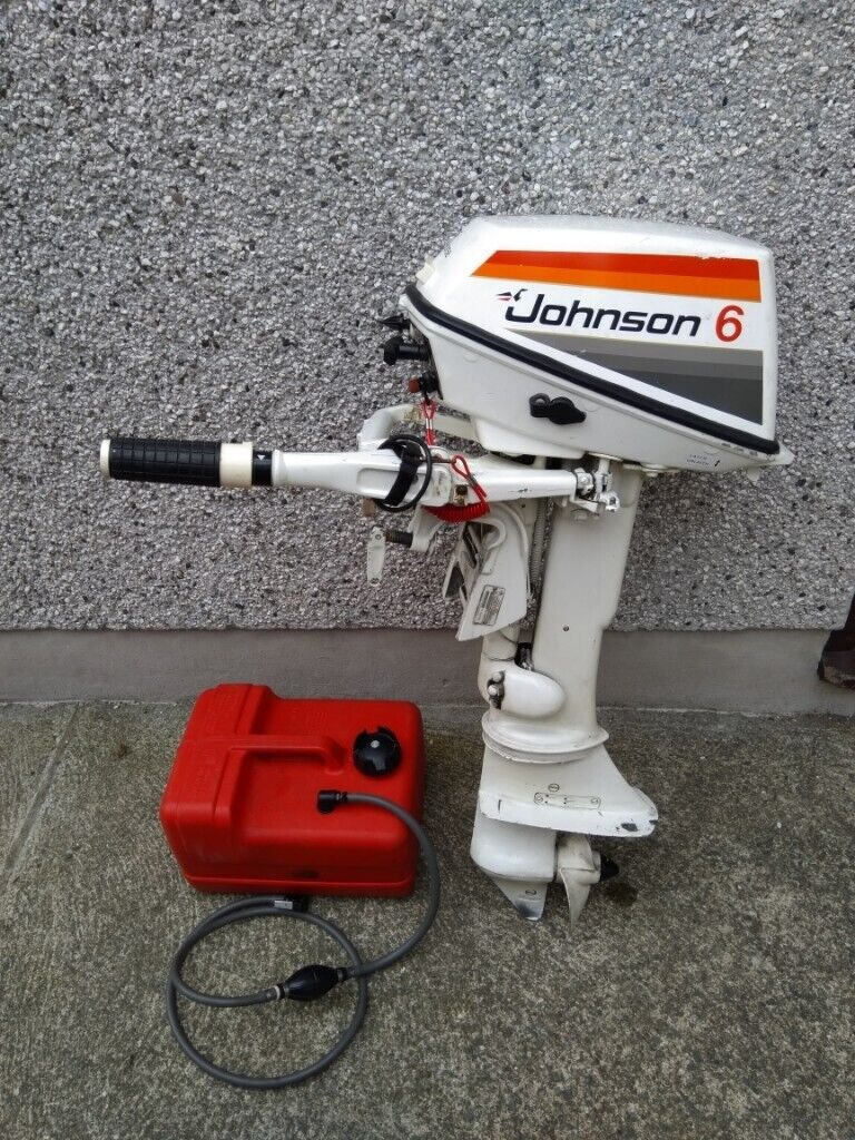 Johnson outboard motor short shaft 6hp | in Llanfairpwllgwyngyll, Isle of  Anglesey | Gumtree