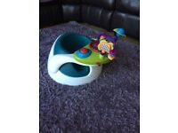 Mamas and papas bumbo seat with tray
