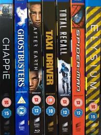 7 blue ray titles all mastered in 4K