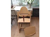 Brilliant stokke high chair