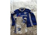 Football Chelsea home kit size 7-8
