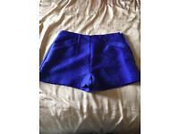 Top Shop & Miss Selfridge size 8 shorts
