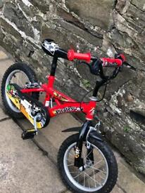 Children's Bike (with stabilisers)