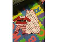 Baby girl christmas suit 0-3months