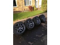 "BMW X3 18"" Alloys with Tyres"