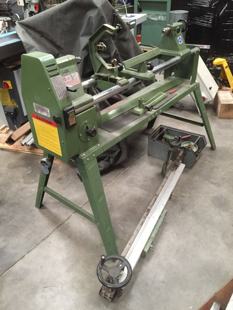 Multico Wood Lathe With Copy Attachment In Newtownards