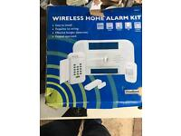 Wireless home alarm..