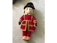 Merrythought by Harrods Speciality Beef Eater Teddy bear