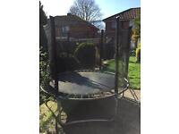6ft trampoline with safety surround