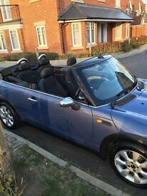 Stunning mini one convertible in excellent condition