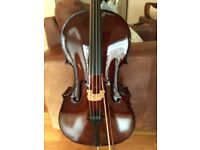 Cello 1/2 size - From Stringers of Edinburgh Student Cello outfit Cost over £729 New