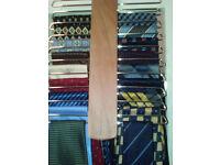 Men's Neckties great selection, good brands Hugo Boss, Burton, Marks & Spencer, Pierre Cardin