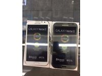 Samsung Galaxy Note 2 16GB,Refurbished, Unlocked, With Warranty Black & White color Available