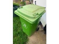 Free green waste bin 70L