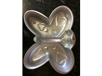 Wilton novelty butterfly cake tin