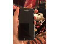 Samsung s6 edge blue