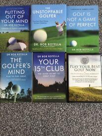 Bob Rotella Golf Psychology Books - £20
