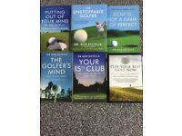 Bob Rotella Golf Psychology Books - £20