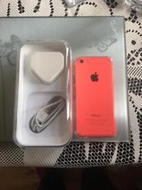 Iphone 5c unlocked unmarked unused gift as new