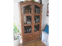 Matching Wooden reception room furniture x 4 pieces (seperate or as a set)